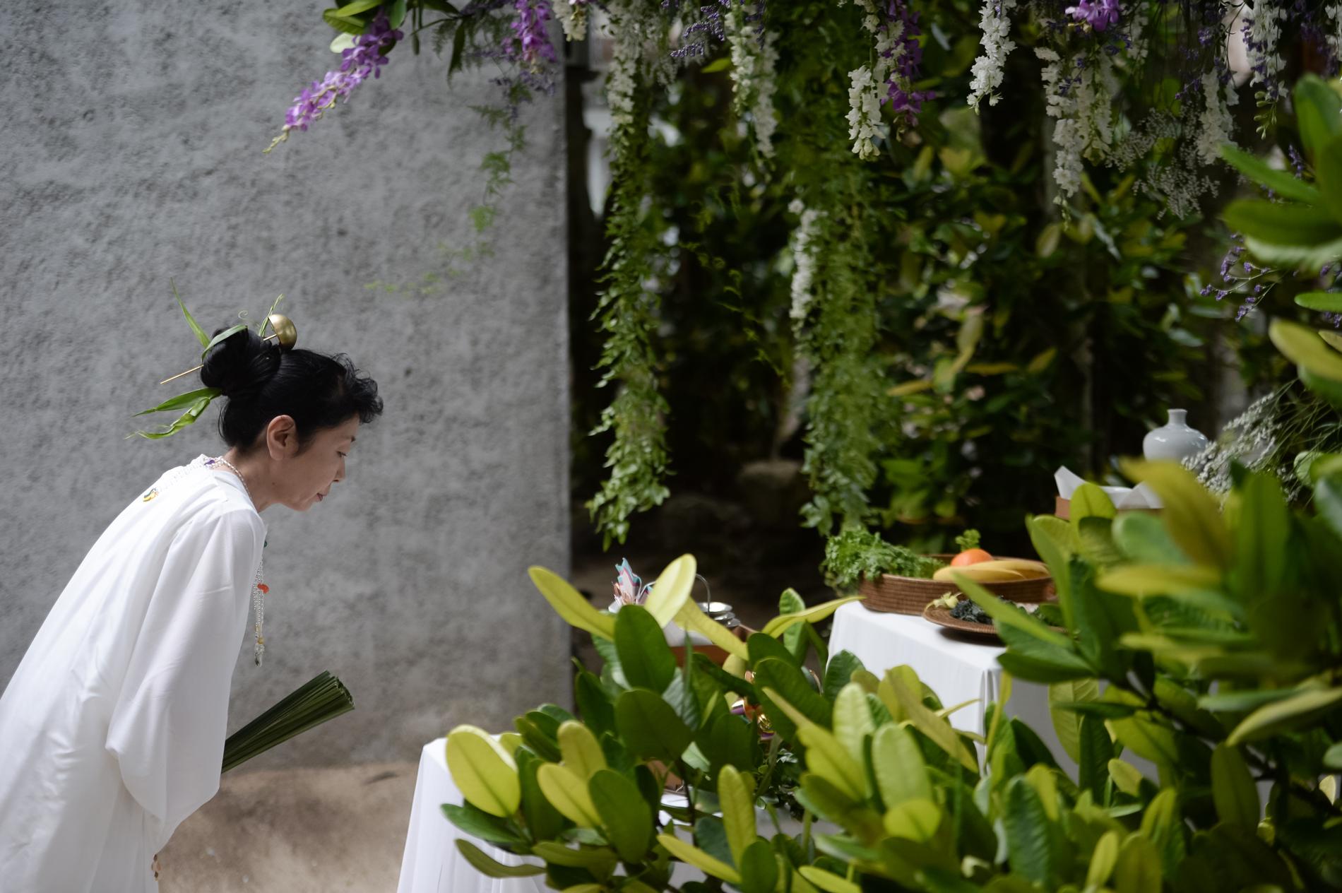 琉球神道式挙式